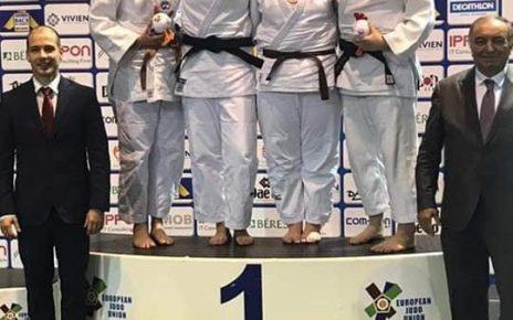 Medalie europeană pentru judoka Georgiana Miller 5