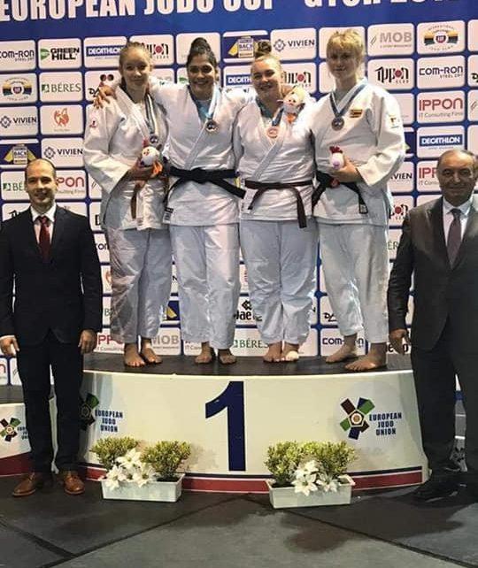 Medalie europeană pentru judoka Georgiana Miller 1
