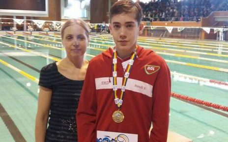 Juniorul Nandor Nagy de la CSS Hunedoara medaliat cu aur la Cupa României 1