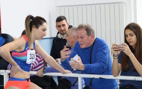 Atletism Florentina Marincu-Iușco participă la Cupa Balcanică Indoor 3