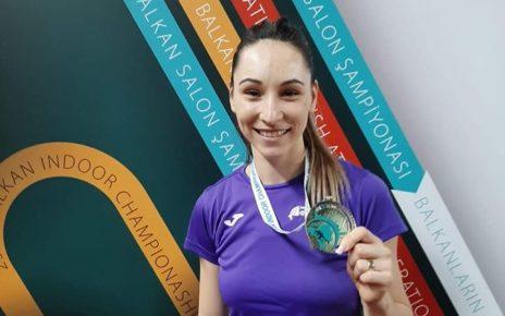 Florentina Marincu-Iușco medaliată cu aur la Campionatele balcanice 2