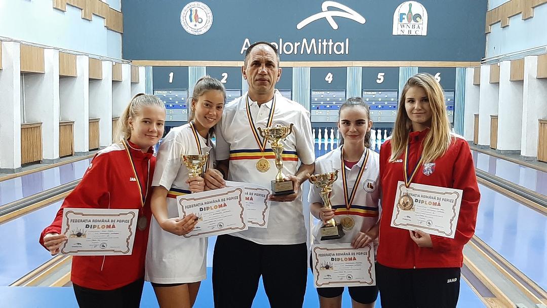 Sportivii hunedoreni printre laureații Turneului Final individual 1