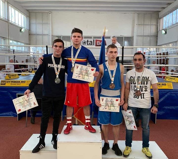Hunedoreanul Cosmin Gîrleanu, campion național la box 4