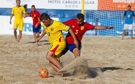 West Deva în Portugalia la Euro Beach Soccer CUP 3
