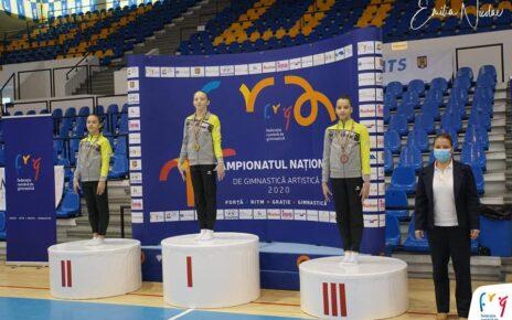 Medalii pentru gimnastele din Deva la Campionatele naționale 4