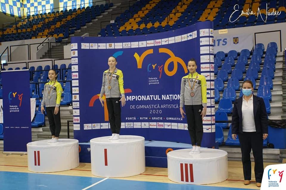 Medalii pentru gimnastele din Deva la Campionatele naționale 2