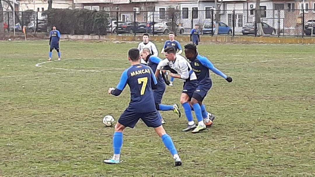 CS Hunedoara câștigă amicalul cu CSC Ghiroda 1
