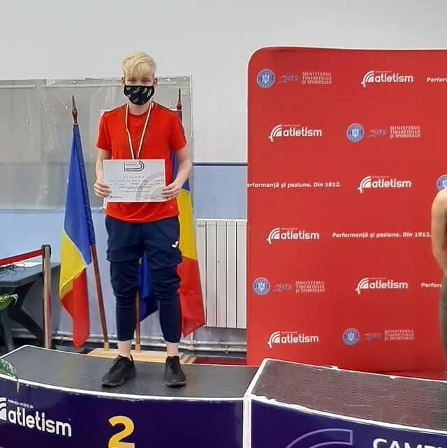 Eva Alzner vicecampioană națională la probe combinate 6