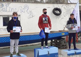 Kaiac-canoe Medalii pentru deveni la Memorialul Zeno Lache 2