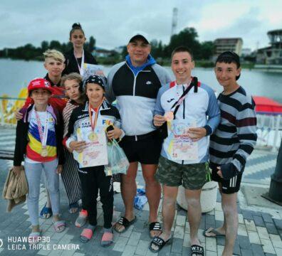 Lupte libere pe plajă Sportivii deveni pe podium la Costinești 9