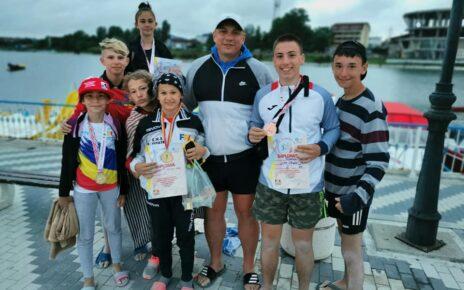 Lupte libere pe plajă Sportivii deveni pe podium la Costinești 2